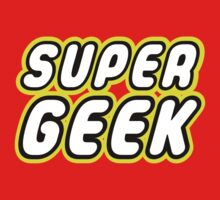 SUPER GEEK Kids Tee