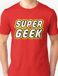 SUPER GEEK Unisex T-Shirt