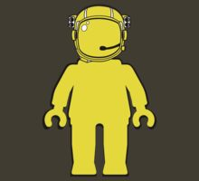 Banksy Astronaut Minifigure by Customize My Minifig