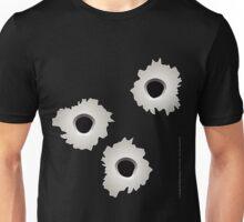 Bullet Holes t-shirt Unisex T-Shirt
