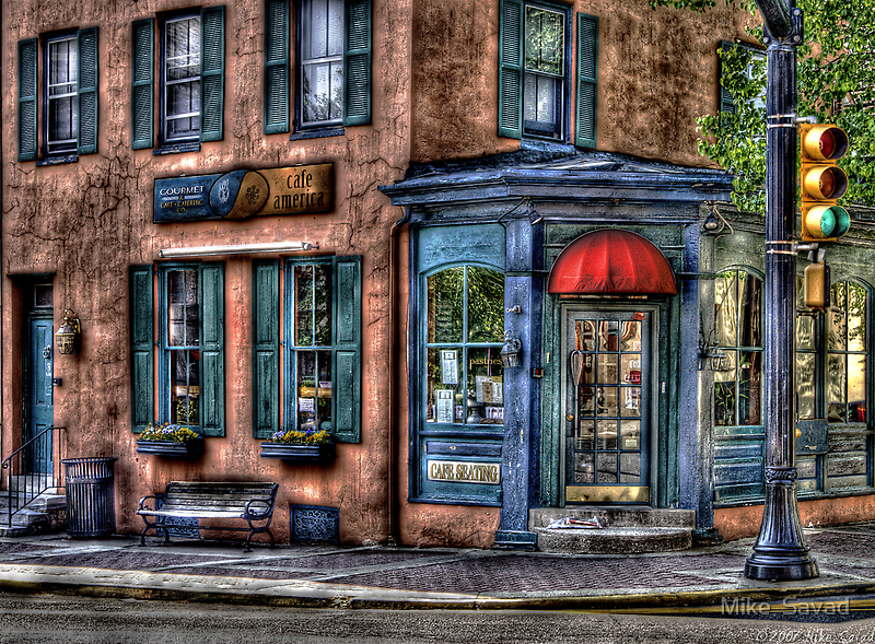 Cafe America by Mike  Savad
