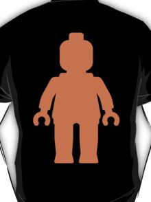 Minifig [Large Orange]  T-Shirt