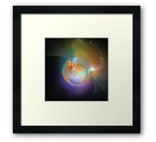 Taking A Breath Framed Print
