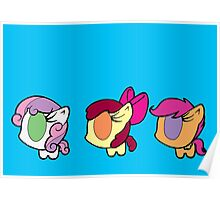Weeny My Little Pony- Cutie Mark Crusaders Poster