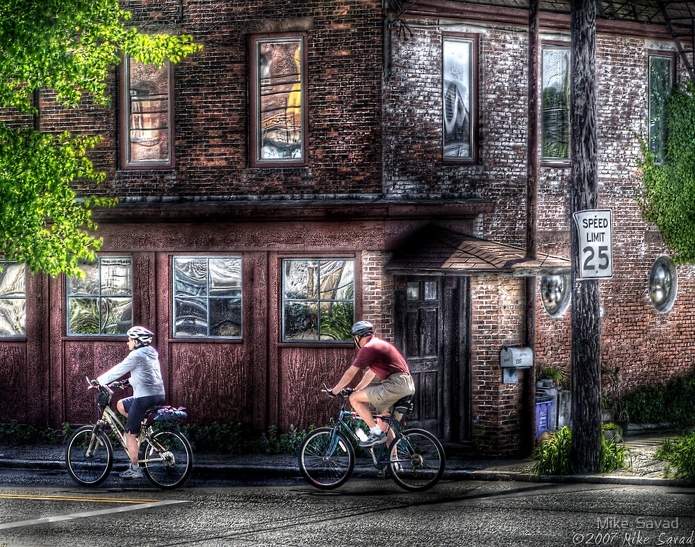 Bicycles by Mike  Savad