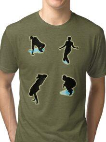 Breakdancing Group 1 Tri-blend T-Shirt
