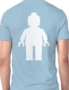 Minifig [Large White]  Unisex T-Shirt