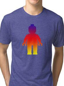 Minifig [Rainbow 2] Tri-blend T-Shirt