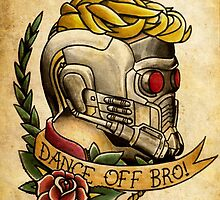 Star Lord Tattoo Parlor by TheFunkMaster3K