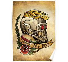 Star Lord Tattoo Parlor Poster