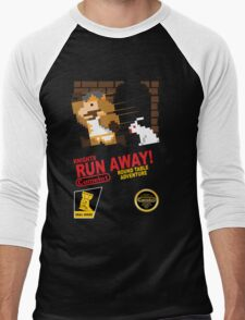 Run Away! Men's Baseball ¾ T-Shirt