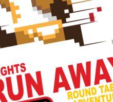Run Away! Sticker