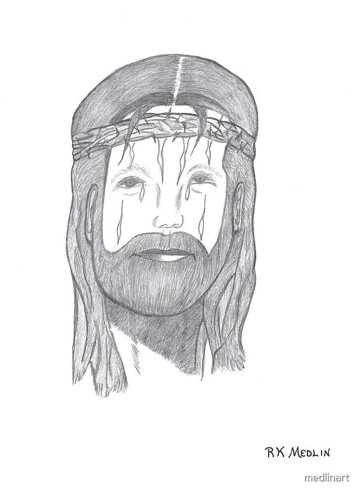 Jesus by medlinart