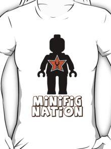 """MINIFIG NATION"" Minifig [Black]  T-Shirt"
