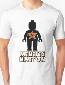 """MINIFIG NATION"" Minifig [Black]  Unisex T-Shirt"