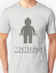 Minifig [Dark Grey]  Unisex T-Shirt