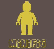 Minifig [Yellow]  Baby Tee