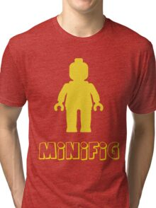 Minifig [Yellow]  Tri-blend T-Shirt
