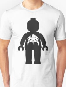 Minifig with UFO Logo  T-Shirt