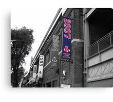 Fenway Park, Boston, MA - 2007 ALCS Championship Banner Canvas Print
