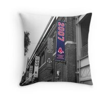 Fenway Park, Boston, MA - 2007 ALCS Championship Banner Throw Pillow