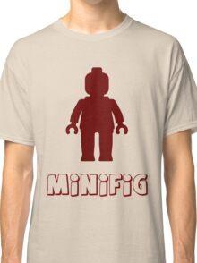 Minifig [Dark Red]  Classic T-Shirt