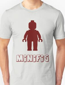 Minifig [Dark Red]  Unisex T-Shirt