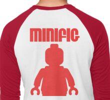 Retro Large Red Minifig Men's Baseball ¾ T-Shirt