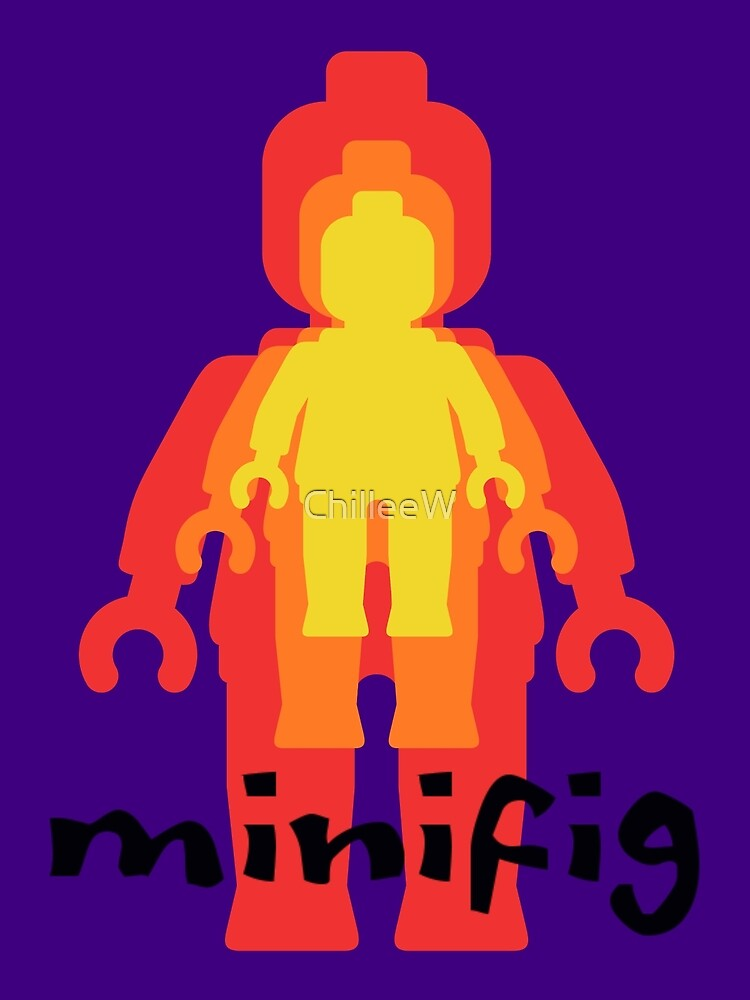 Colored Minifigs by Customize My Minifig