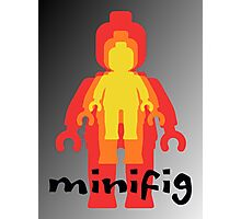 Colored Minifigs  Photographic Print