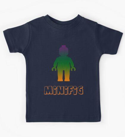 Minifig [Rainbow 3]  Kids Tee