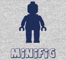 Minifig [Dark Blue]  One Piece - Long Sleeve