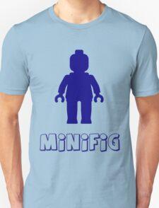 Minifig [Dark Blue]  Unisex T-Shirt