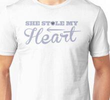 She stole my HEART with arrow left Unisex T-Shirt