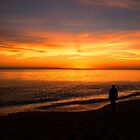 Watching the Sunset by Chris Thaxter