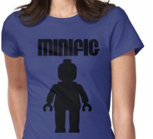 Minifig [Black]  Womens Fitted T-Shirt