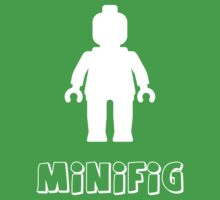Minifig [White] by Customize My Minifig