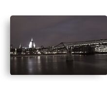 St.Pauls at night Canvas Print