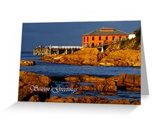 Tathra Wharf Greeting Card