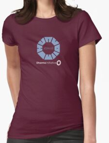 Modern Dharma Logo Womens Fitted T-Shirt