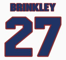 National football player Niles Brinkley jersey 27 by imsport