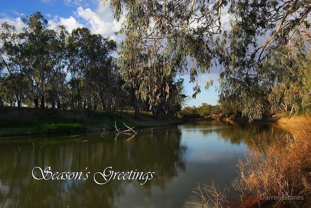 Darling River by Darren Stones