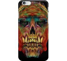 skull thuggery iPhone Case/Skin