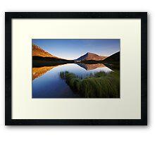 Mountain Mirror Framed Print