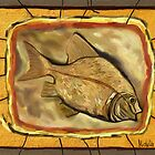 Fossil Fish by Michelle Behar