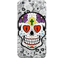 Sugar Skull #1 iPhone Case/Skin