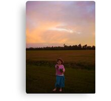 Come and Play With Me! Canvas Print