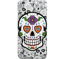 Sugar Skull #2 iPhone Case/Skin