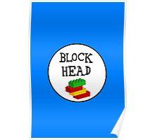 BLOCK HEAD Poster