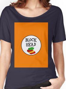 BLOCK HEAD Women's Relaxed Fit T-Shirt